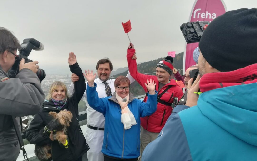 myCOPD-Challenge 2019: Tirol Heute Beitrag